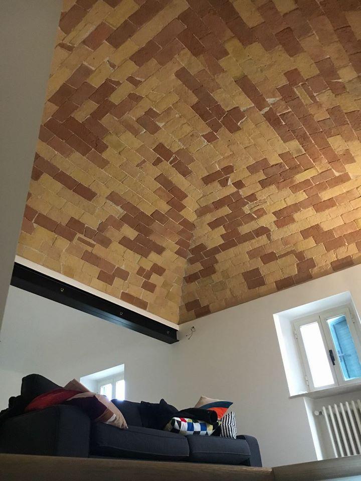 vista del soffitto
