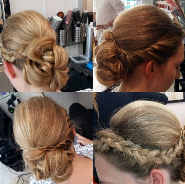 unique hair styling