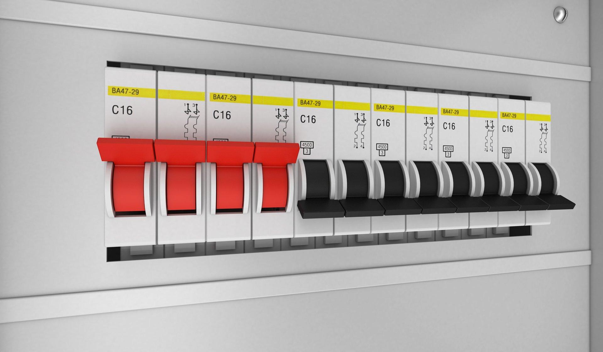 fuse switch board