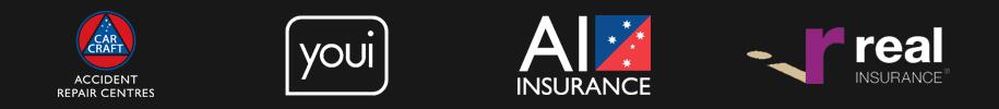 various insurance logos