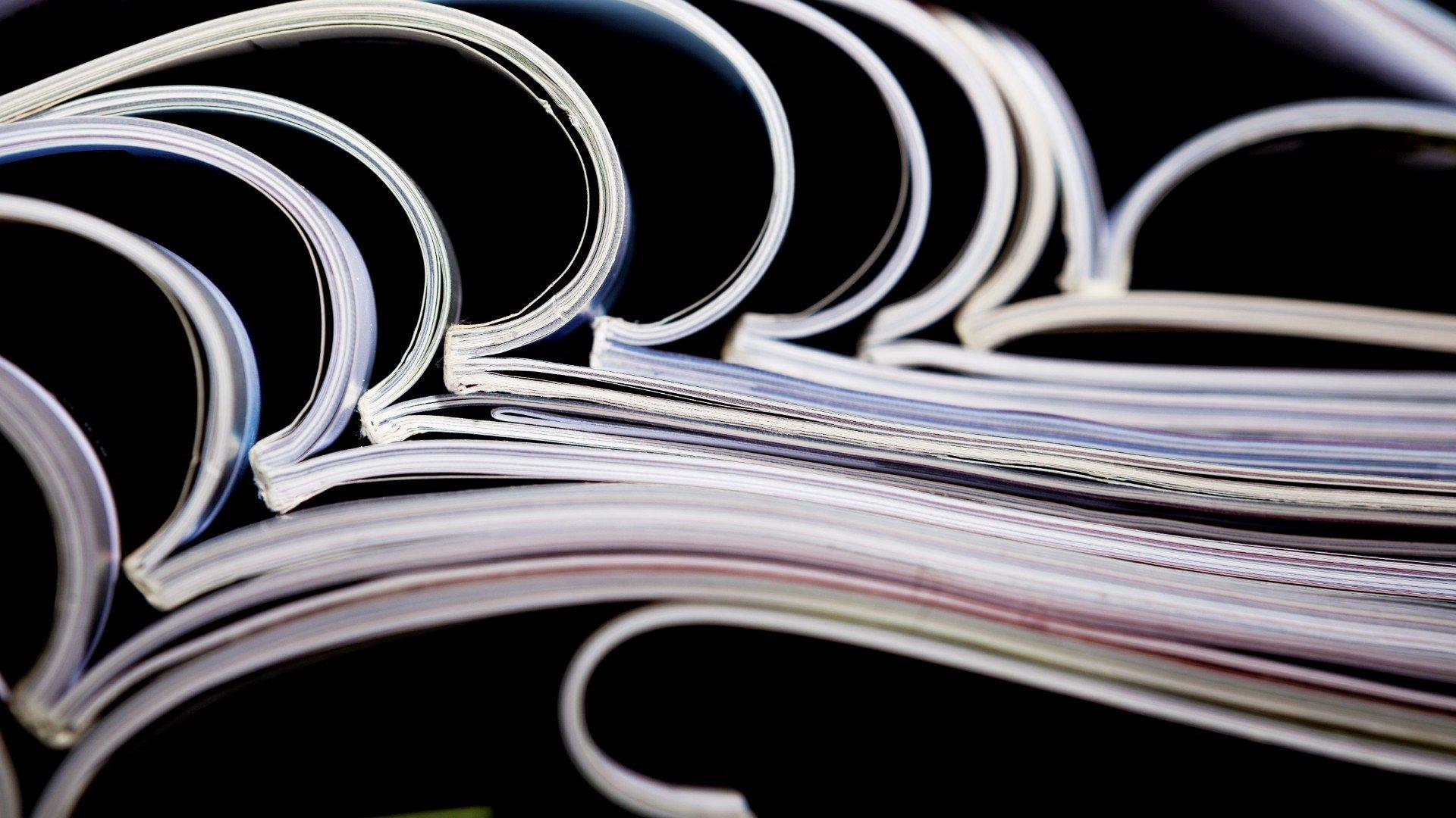 giornali aperti