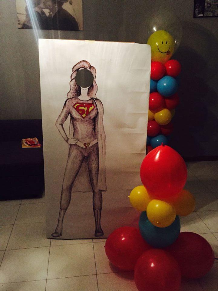 cartonato di supergirl