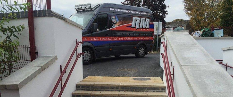 RM Services van
