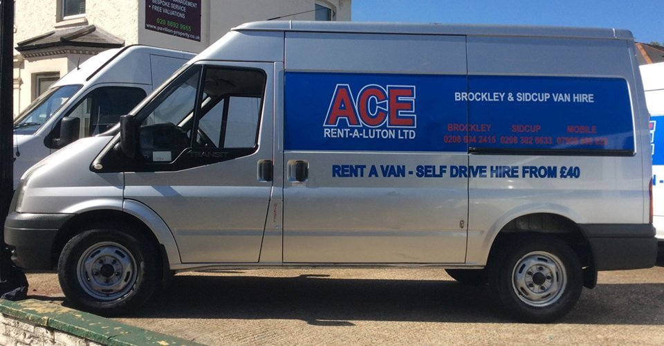 affordable van rentals at ace rent a luton ltd brockley sidcup van hire. Black Bedroom Furniture Sets. Home Design Ideas