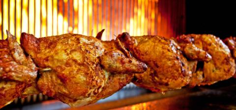 pollo allo spiedo terzigno