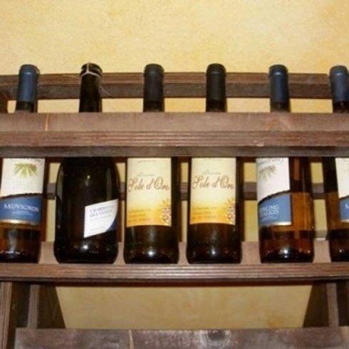 Ampia scelta di vini.