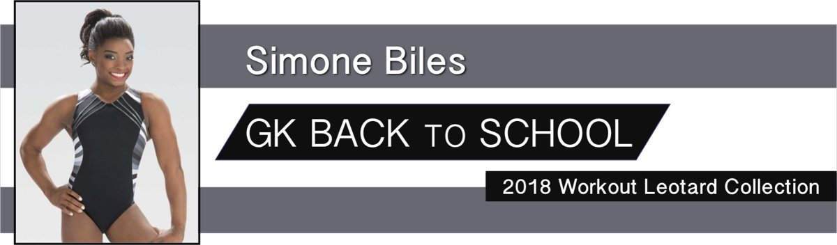 2018 Simone Biles Back to School Gymnastics Leotards for Australia, New Zealand and Singapore