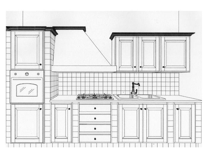 Cucina in muratura come realizzarla - Progetti cucine in muratura ...
