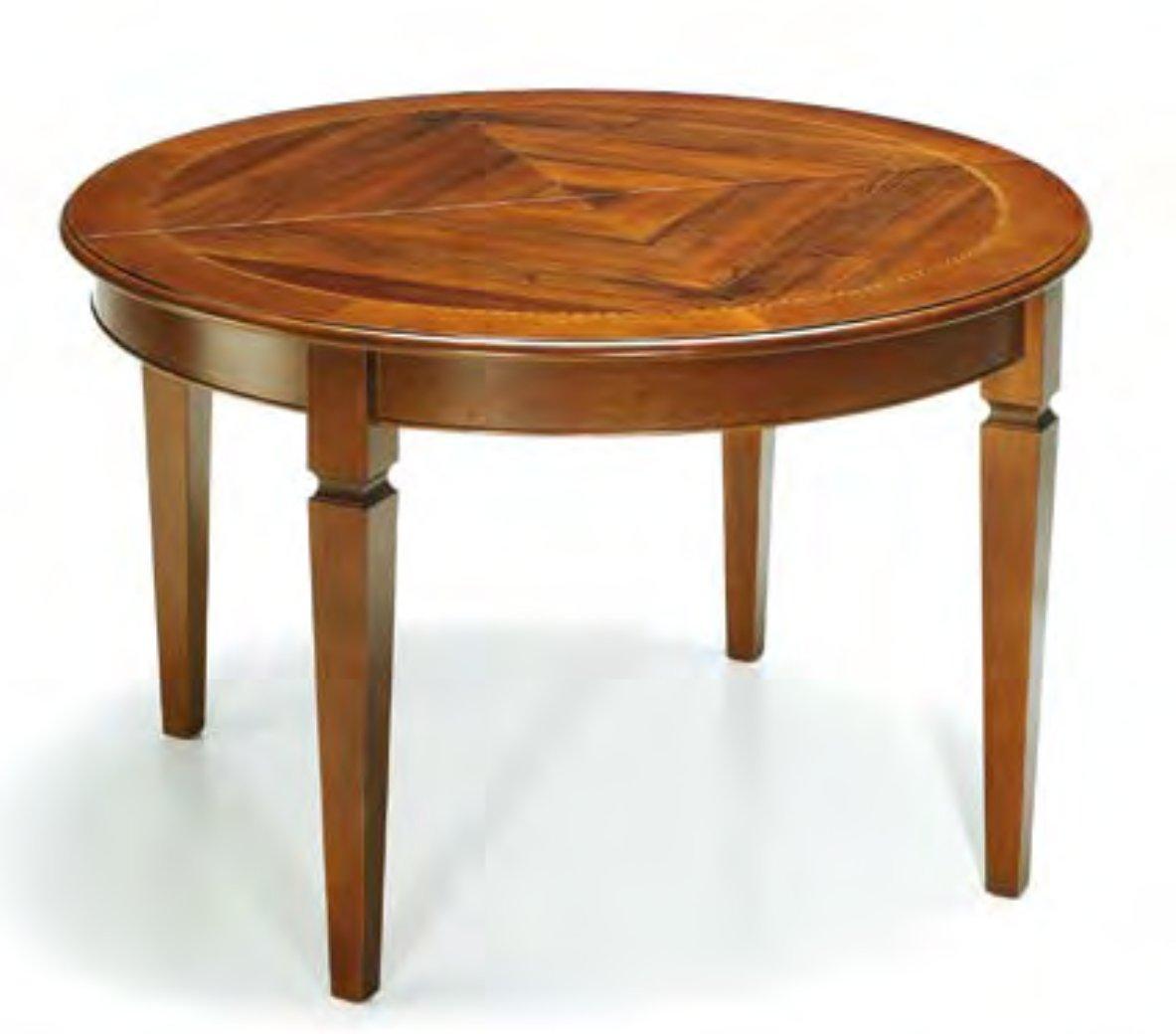 Tavoli e sedie classici avezzano savina mobili for Tavolo 100x100 allungabile