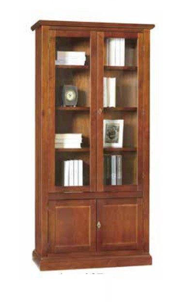 libreria con vetro
