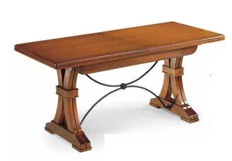tavolo allungabile con ferro