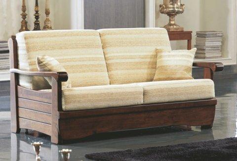 divano letti in legno