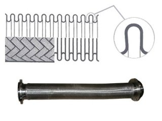 tubo inossidabile flessibile