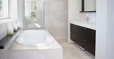 One of our bathroom desings in Newcastle