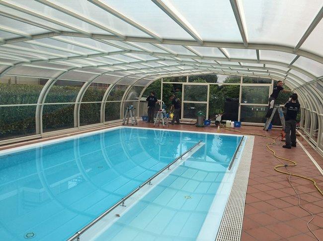pulizia piscina