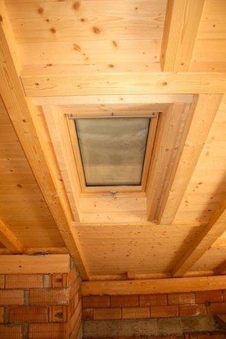 tetto con lucernario, mansarda