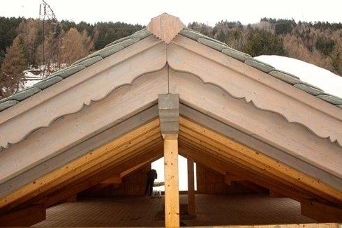 costruzione tetti, lavorazione legno