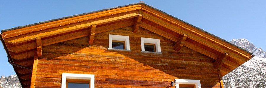 realizzazione balconi, carpenteria in legno