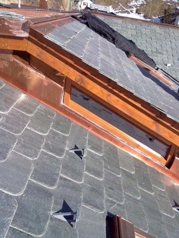 sopralzo in legno, tettoia