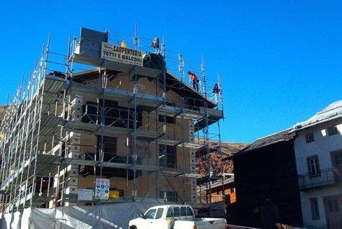 carpenteria, tetti, balconi