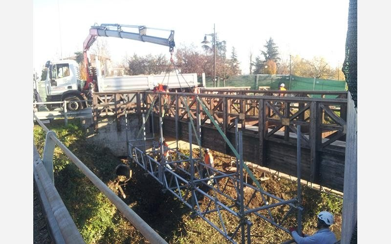 Ponte Pedonale Argelato b