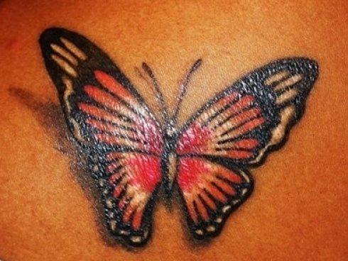 tattoo farfalla