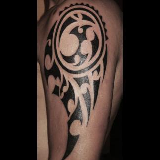 maori su spalla