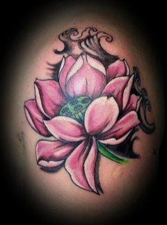 Fiore di loto tattoo
