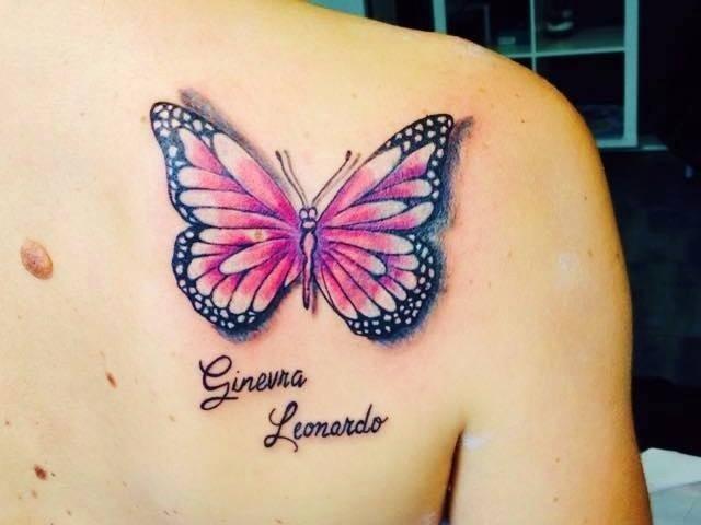 farfalla dedica