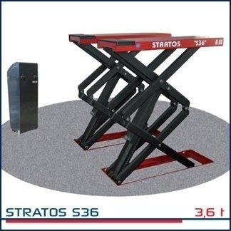 SOLLEVATORI STRATOS S36, SOLLEVATORI STRATOS