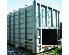 Container pressa stazionaria