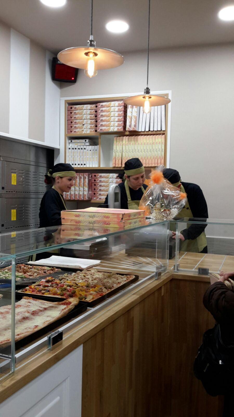 Pizzeria Magic Pizza, Valmontone (RM), realizzazioni