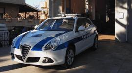 Alfa romeo della polizia