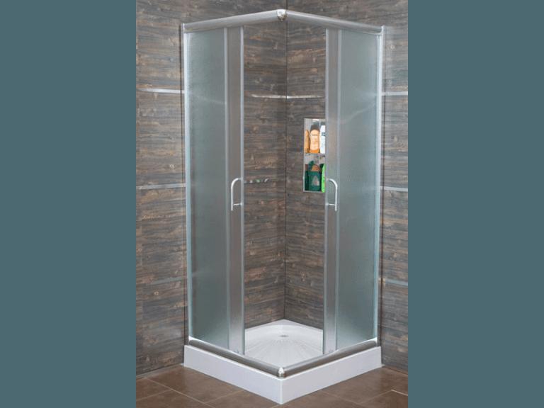 Box doccia cristallo scorrevole opaco