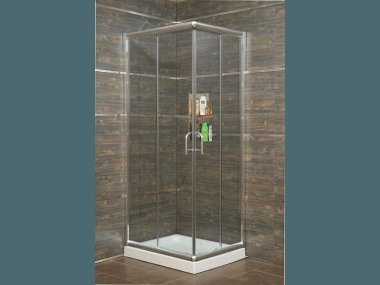 Box doccia cristallo trasparente