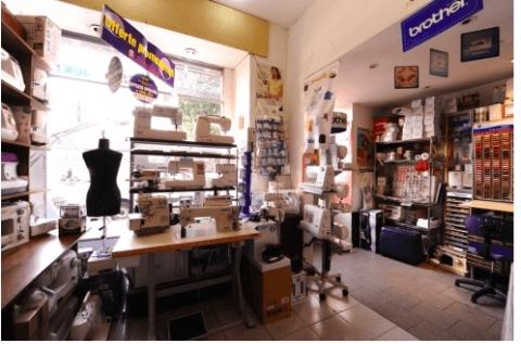 vendita macchine per cucito