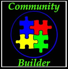 Community Builder Logo Website Design