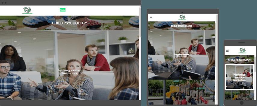 custom web design for psychology