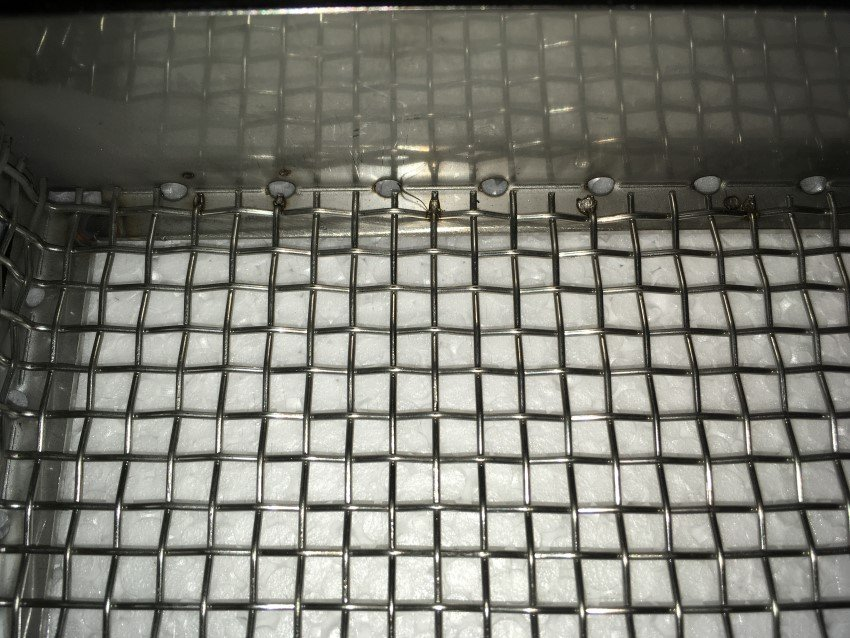 Griglia in acciaio inox