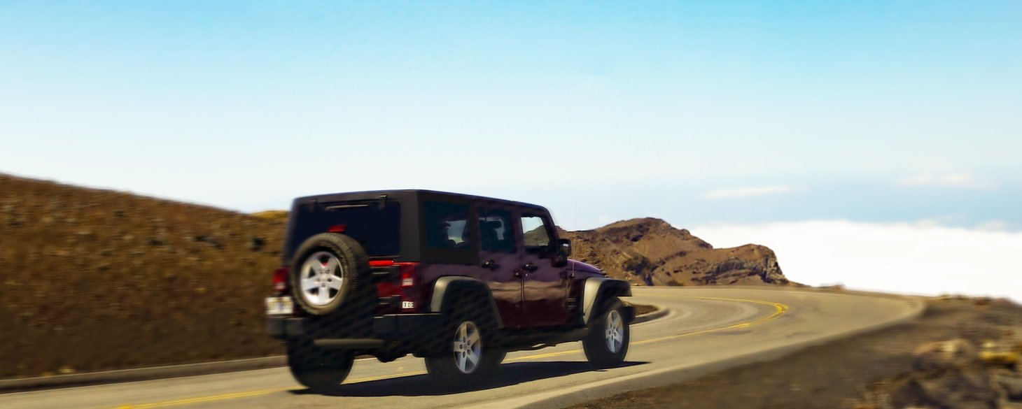 4 Door Jeep Rental Maui