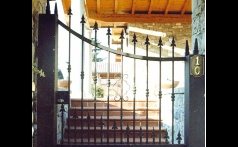 cancello inglese carraio