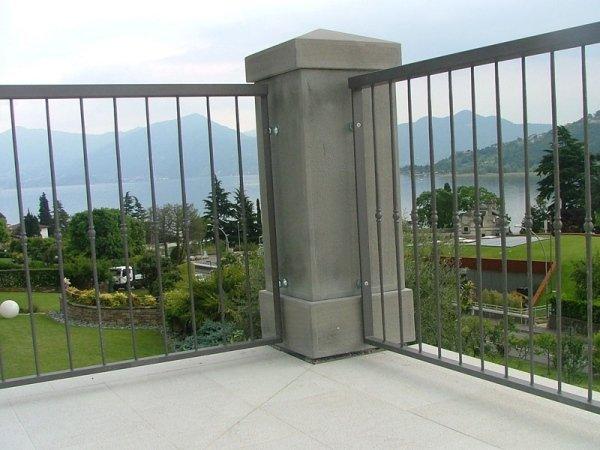 ringhiere per grandi terrazzi