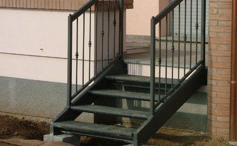 scale realizzate in tubolare