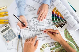 building plan blueprint
