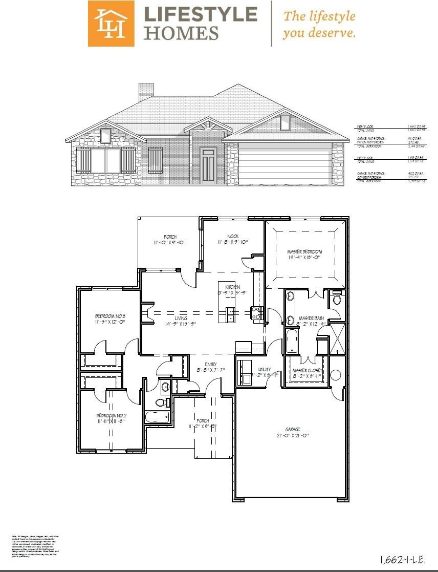 Lifestyle homes lubbock tx floor plans for Lifestyle homes floor plans