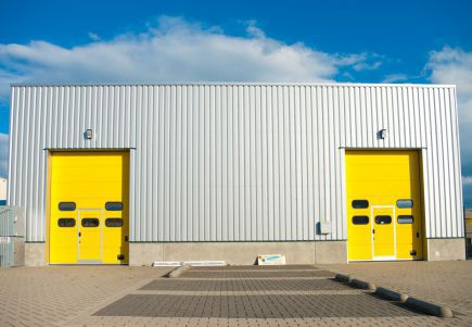 Industrial roller shutters in Aberdeenshire