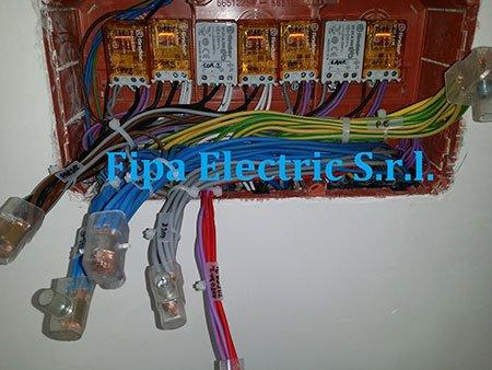 dei cavi elettrici