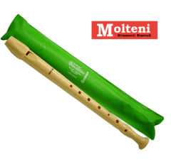 Flauto dolce Hohner in plastica 9508 busta verde. Molteni Varese