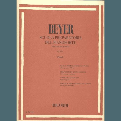 Metodo Beyer per imparare a suonare il pianoforte