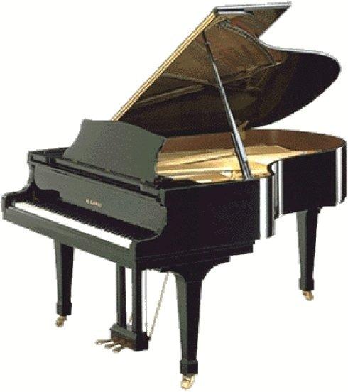 Noleggio pianoforte a coda Kawai rx5